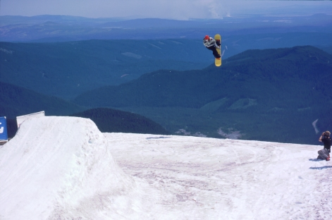 High Cascade Snowboard Camp at Mt. Hood, OR