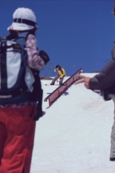 Leanne Pelosi at High Cascade Snowboard Camp, Mt. Hood